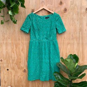 3/$25 Cynthia Rocket Green Lace Dress